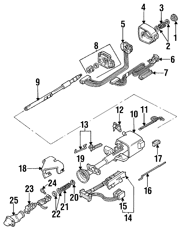 Buick Regal Ignition Lock Assembly