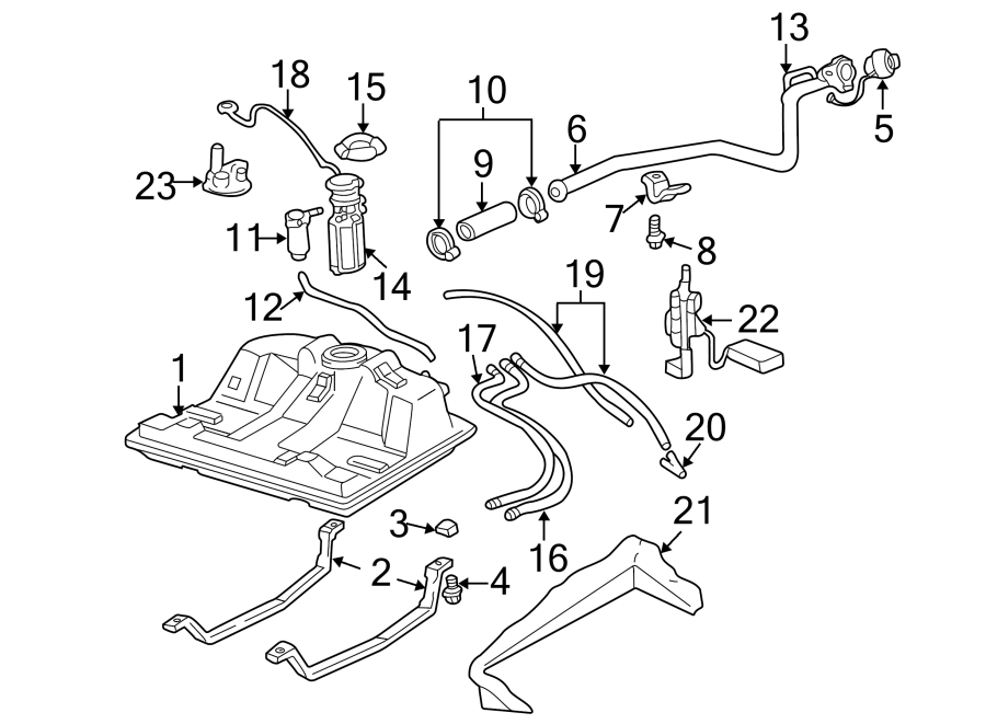 Chevrolet Impala Fuel Pump Wiring Harness