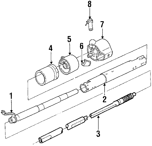 Chevrolet C1500 Lock  Cylinder  And  Ignition