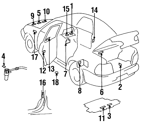 99 Chevy Prizm Engine Diagram