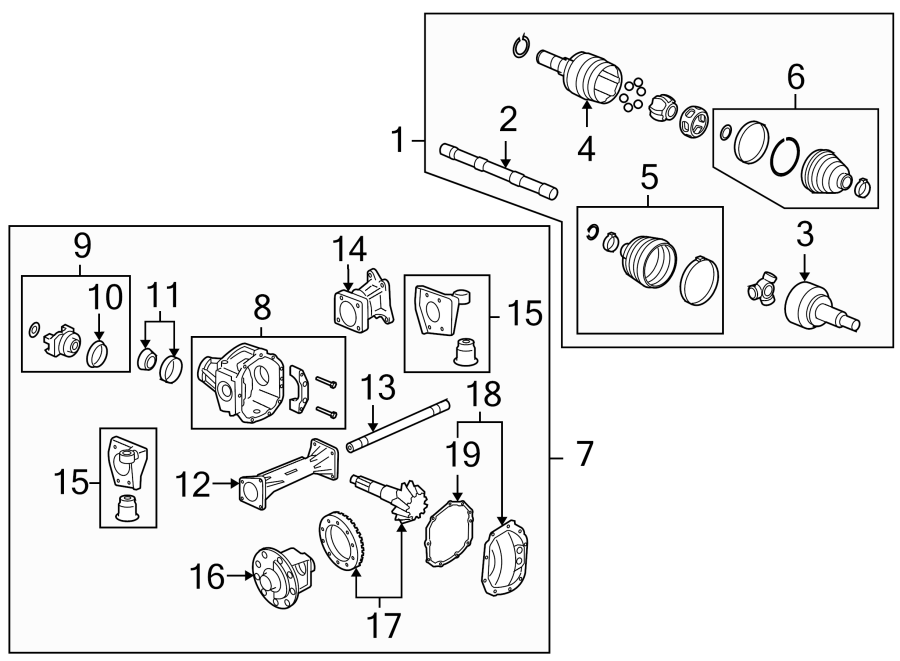 Chevrolet Tahoe Differential Pinion Seal Front Wiring Diagram