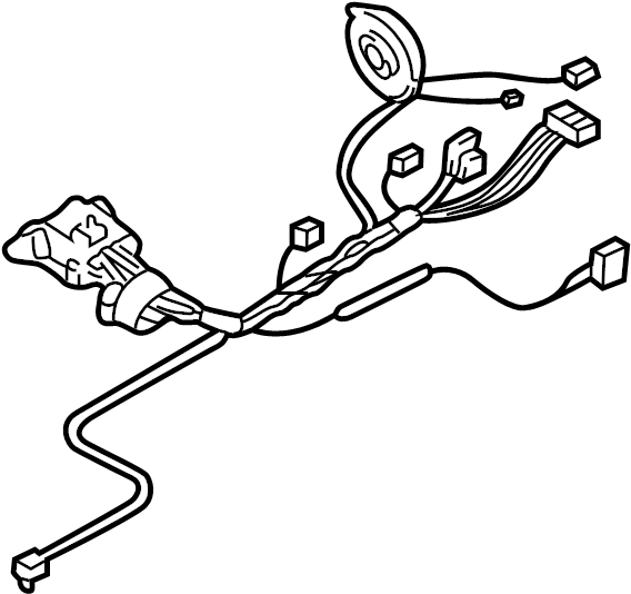 Cadillac Cts Steering Column Wiring Harness  Auto Trans  Cts  Auto Trans