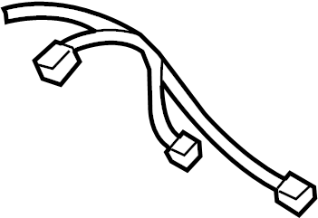 Chevrolet Express 3500 Radio Wiring Harness. ONSTAR, 2003 ...