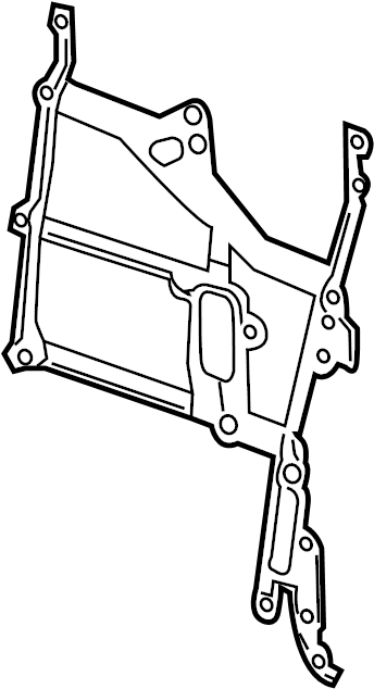 Chevrolet Cruze Engine Timing Cover Gasket  Front   1 4