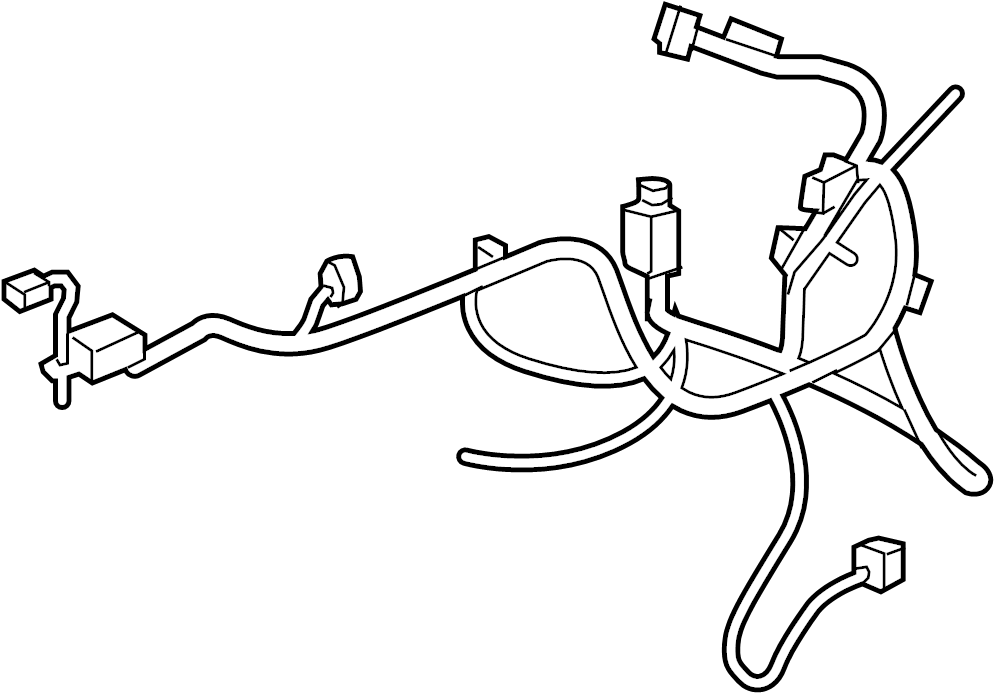 saturn outlook engine wiring harness  main